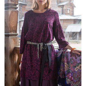 Gudrun Sjoden Tunic Kalejdoskop Dress Purple N8